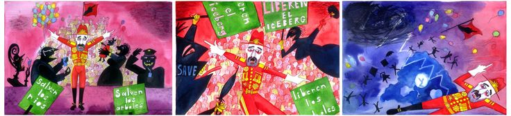 The Dictator puppet from Lulie The Iceberg - Designs by Kim Carpenter