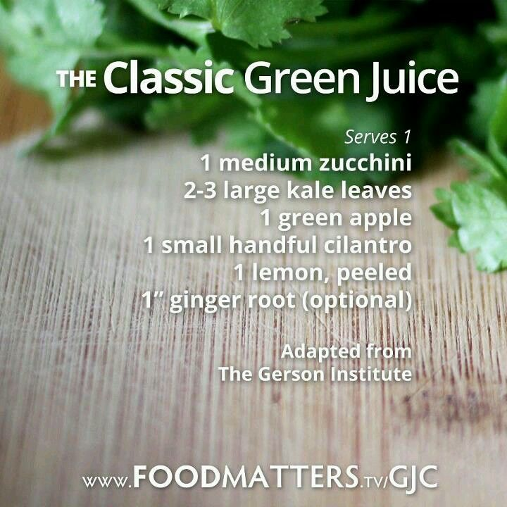 Gerson Institute Classic Green Juice