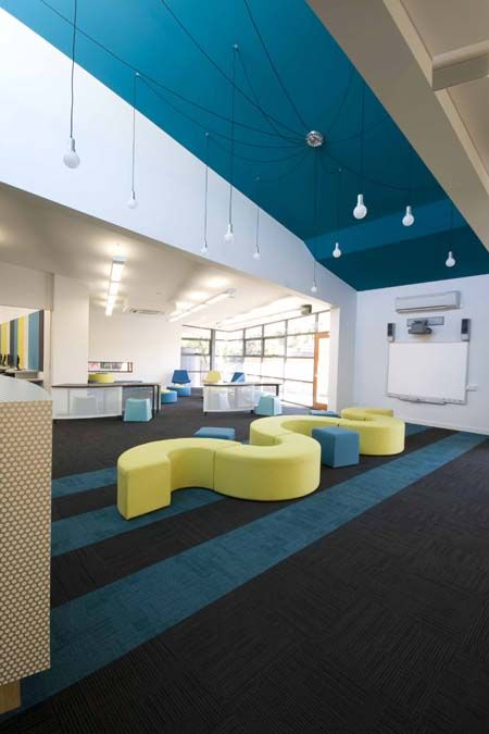 St Lukes school library fit-out by Burgtec