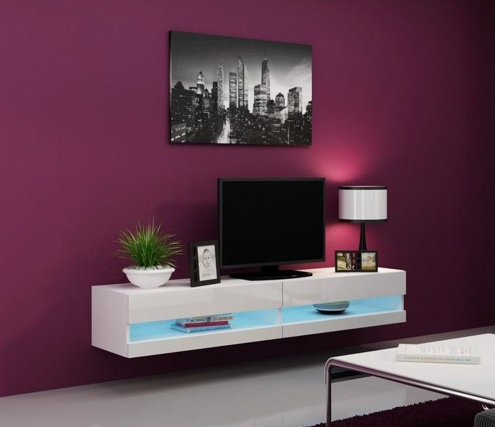 White Hanging Tv Stand With Led Lights Seattle 31 Seattle Is A