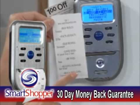 Smarthome - SmartShopper Electronic Grocery List Organizer - YouTube