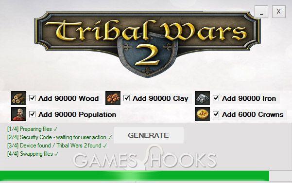 Tribal Wars 2 Hack | Games Hooks