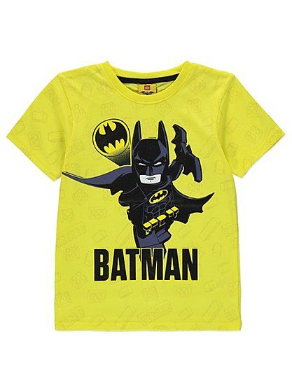Lego Batman T-shirt with Cape, read reviews and buy online at George at ASDA. Shop from our latest range in Kids. A perfect pick for fans of Lego Batman, thi...