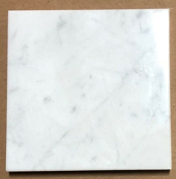 Italian Carrara 6x6 Marble Tile