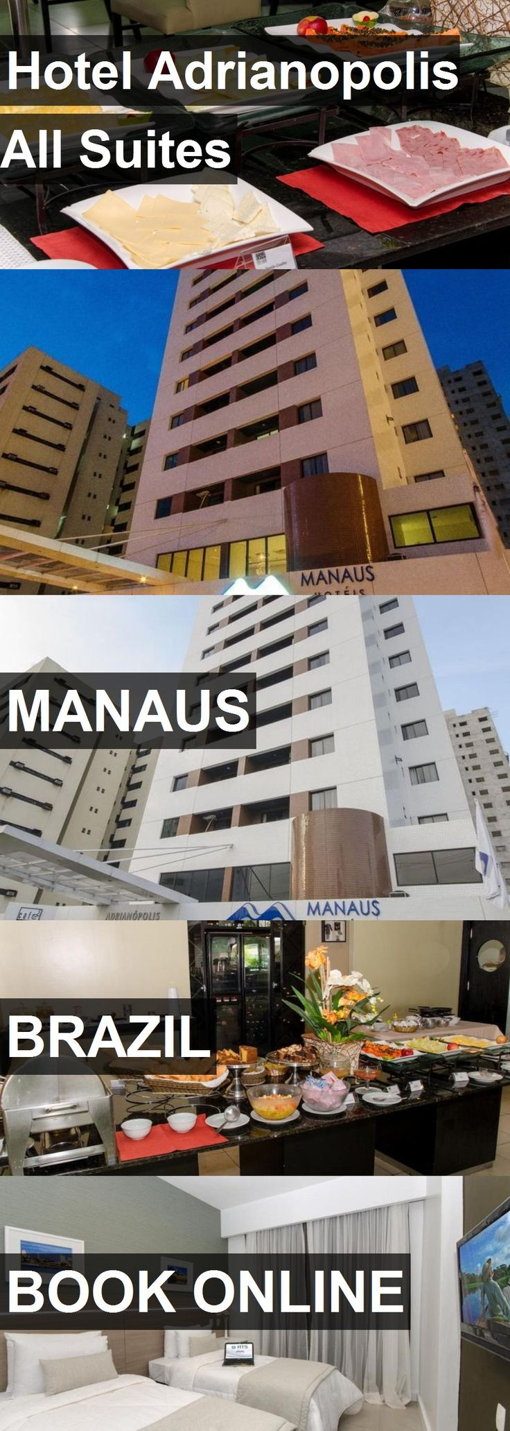 Hotel Adrianopolis All Suites in Manaus, Brazil. For more information, photos, reviews and best prices please follow the link. #Brazil #Manaus #travel #vacation #hotel