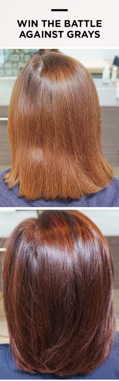 """Feel like you are always fighting against the most stubborn grays? Try this. """"I had stopped coloring my hair as nothing covered the gray. This worked!"""""""