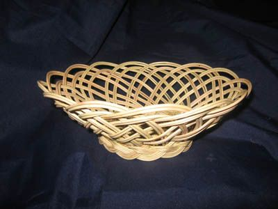 Tutorial - basket (Ажурная хлебница)