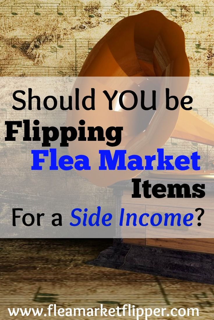Ever think to sell your fun flea market and thrift store finds online for a profit? See if you qualify for this fun side hustle.