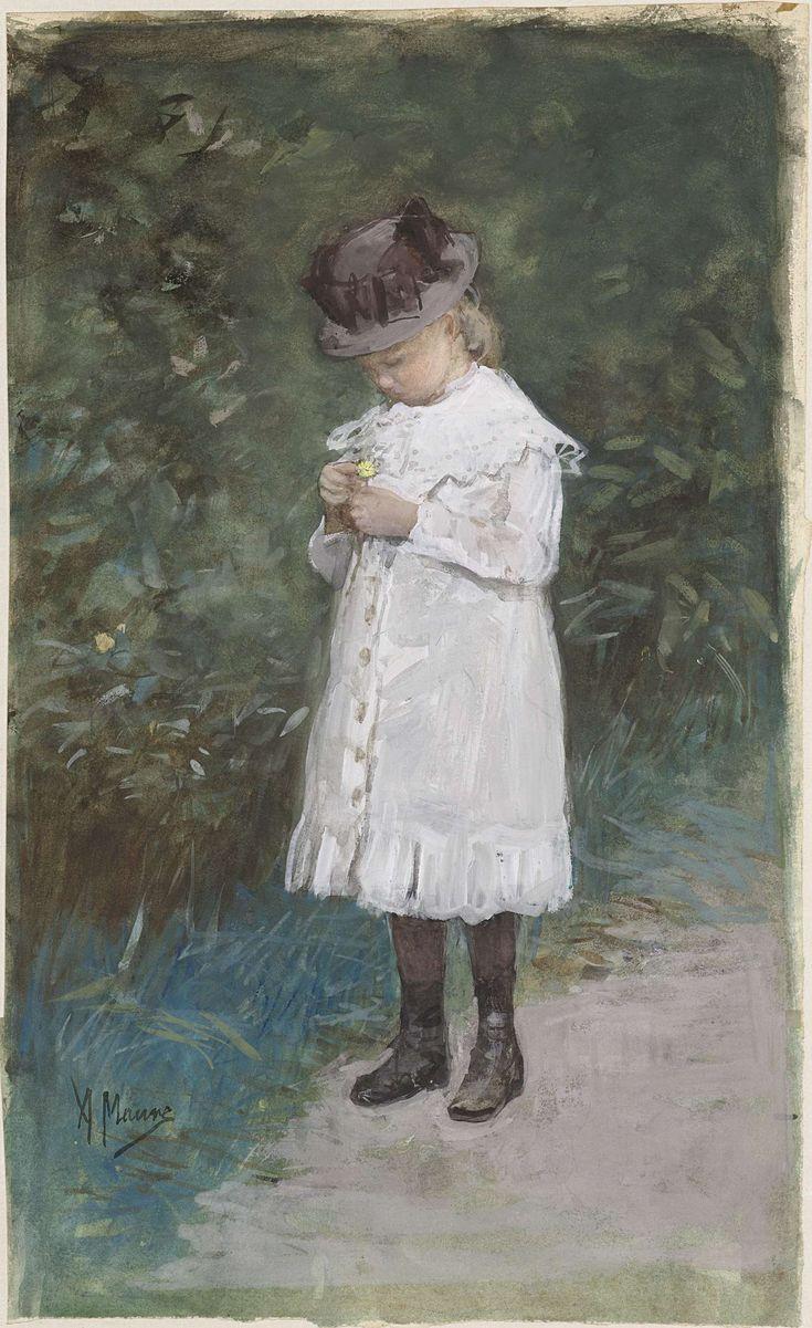 Elisabeth Mauve (geb 1875), dochtertje van de kunstenaar, Anton Mauve, 1875 - 1888