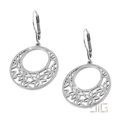 Σκουλαρίκια με λουλουδάκια - Ασημένια σκουλαρίκια