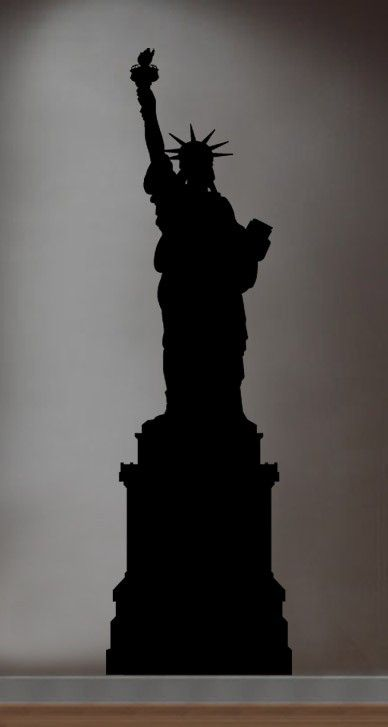 Vinyl Wall Decal Sticker Statue of Liberty NYC New by Stickerbrand, $29.95