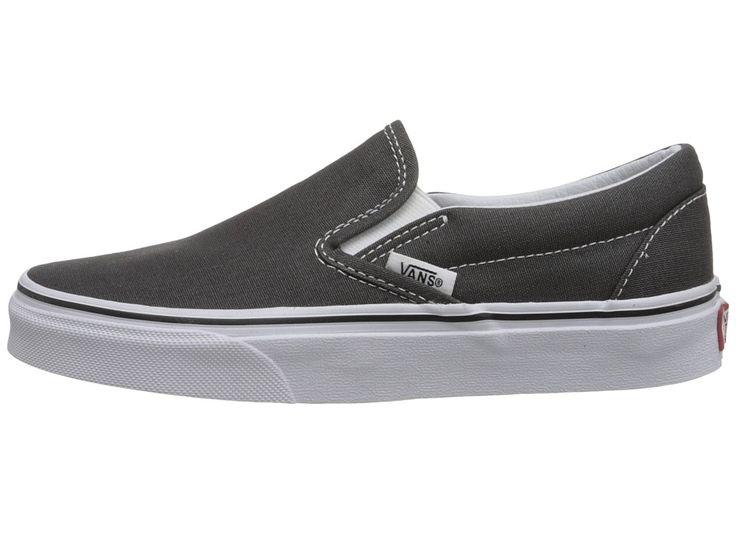 Vans Classic Slip-Ontm Core Classics Shoes Charcoal (Canvas)