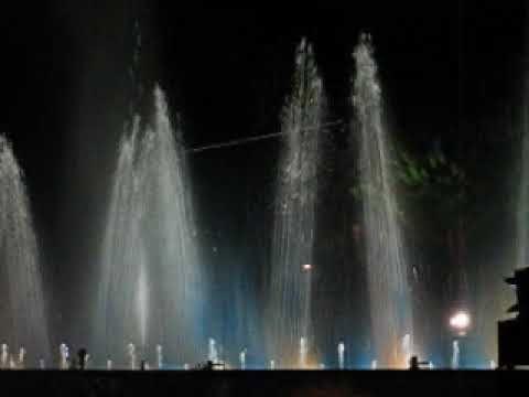 the dance of the artesian fountain