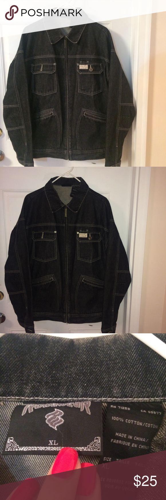 Rocksway men's Jean Jacket XL Jackets & Coats