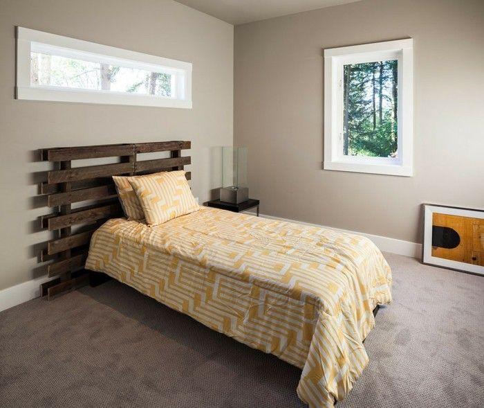 die besten 25 bett aus europaletten ideen auf pinterest palettenbett bett aus paletten und. Black Bedroom Furniture Sets. Home Design Ideas
