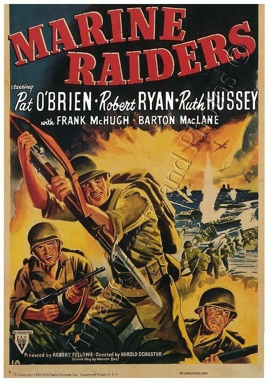 Marine Raiders (1944) Pat O'Brien, Robert Ryan, Ruth Hussey