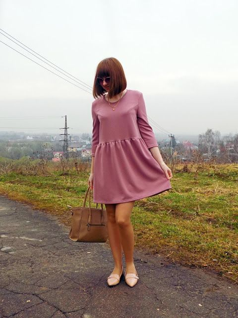 Романтичное весеннее платье своими руками