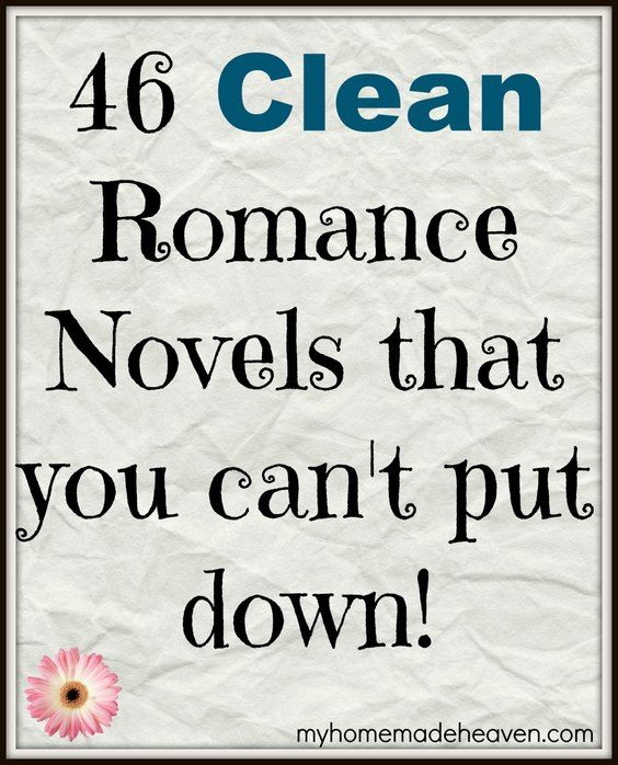 I LOVE these novels!! And the best part is that they are ALL CLEAN ROMANCE BOOKS!!