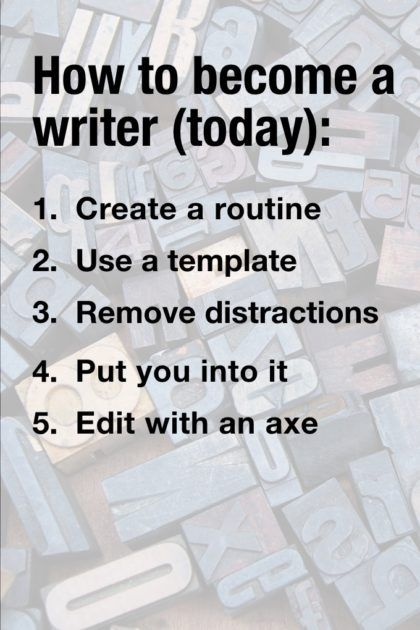 Do you write?  You should!  It can be great for business.