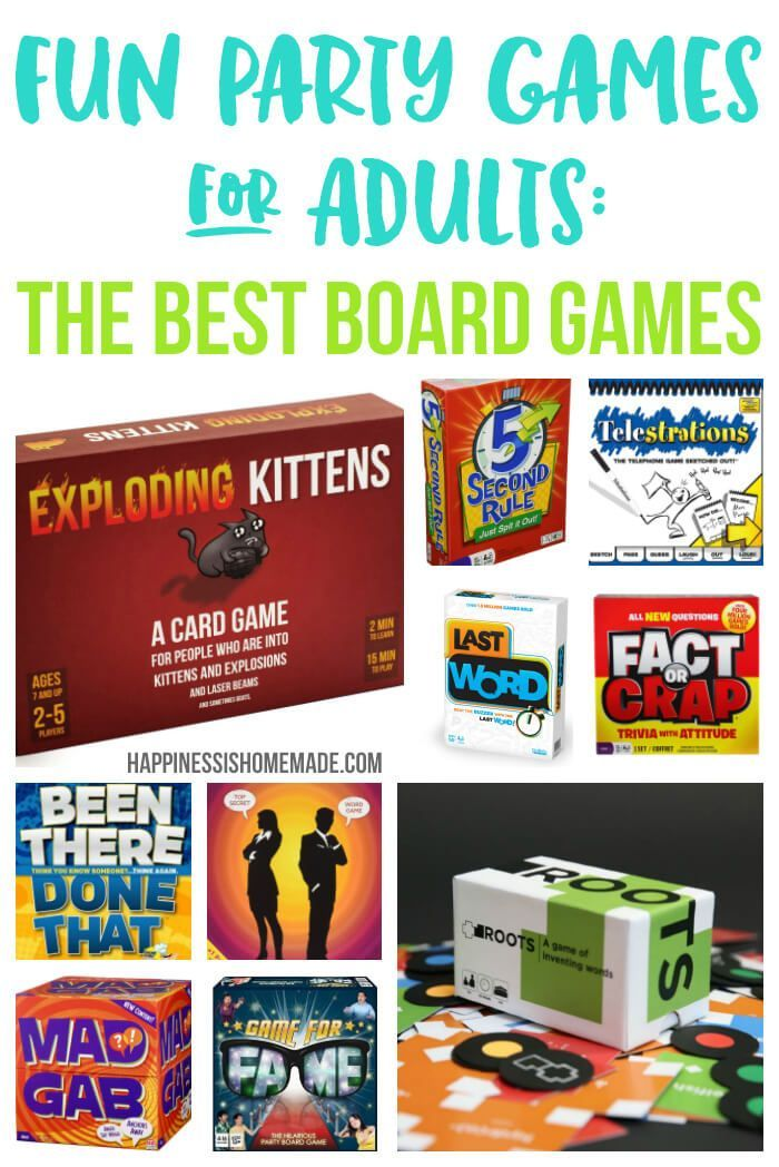 These 20 Board Games Are The Most Fun Party Games For Adults Game Night Doesn T Have To Be Boring With Fun Party Games Funny Party Games Fun Games For Adults