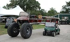Guinness Book World Record Golf Cart. We have a LARGE inventory of new and used gas and electric golf carts for sale at Mike's Golf Carts