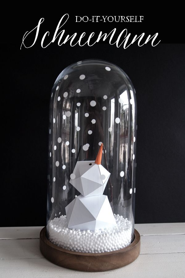 DIY Schneemann inkl. Download via sodapop-design.de