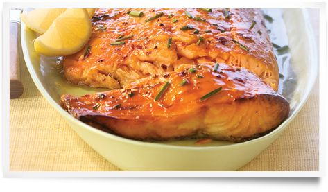 Diana® Sauce,Grilled Citrus Salmon:: Recipe