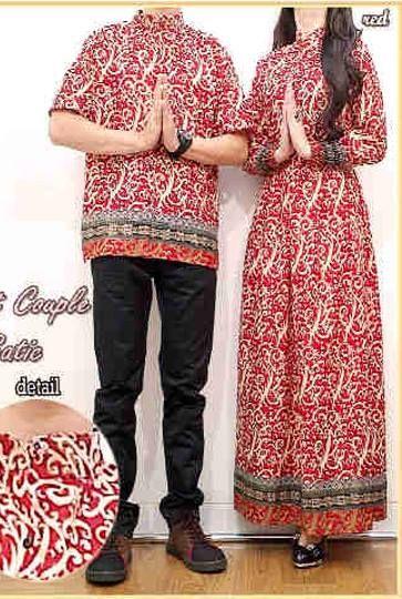 Maxi couple Batik Bahan Katun Lebar dada/panjang wanita: 50/140cm, pria: 55/65cm Harga : Rp. 162.500,-/pasang Kode Produk / Product Code : CL2310