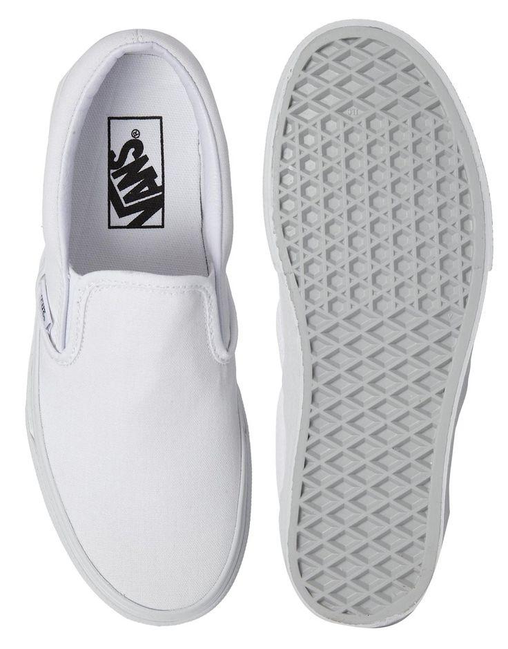 Image 3 of Vans True White Classic Slip On Sneakers