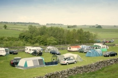 Easy access to the Peak District from Knotlow Farm campsite in Derbyshire.