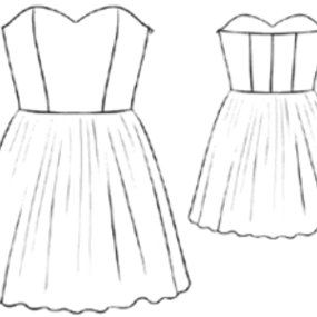 How To Make A Strapless Dress