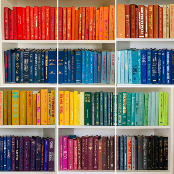 Decorative Books By Color Choose From 15 Colors Office Etsy Book Decor Decor Bookshelves
