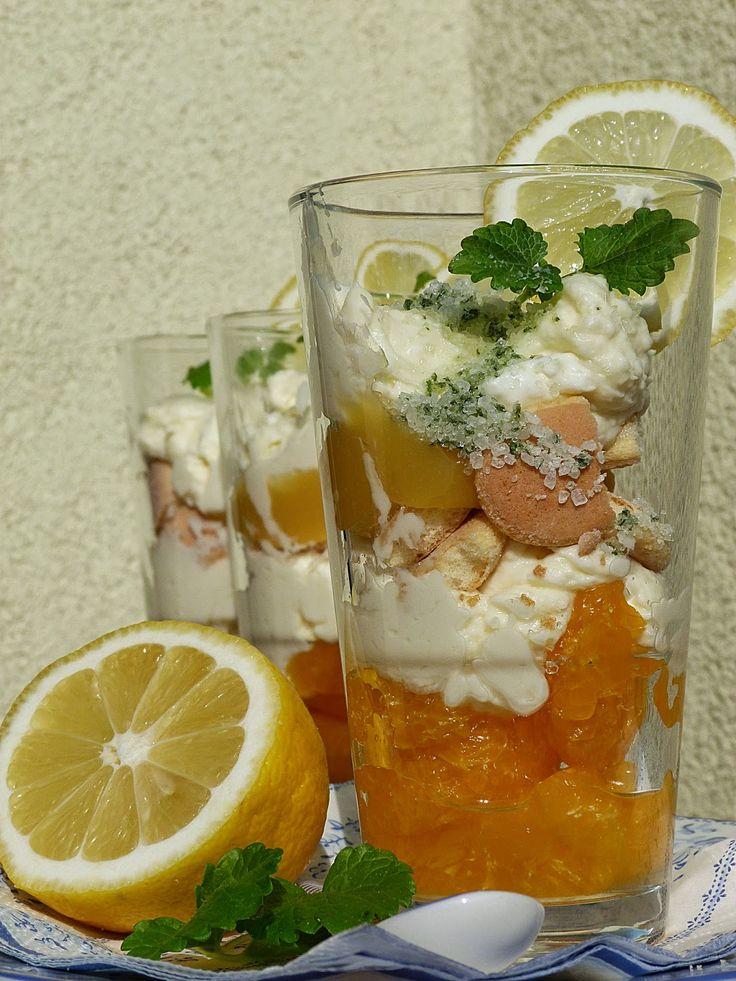 Kouzlo mého domova: Skleničkový citrusový dezert s krémem z mascarpone...