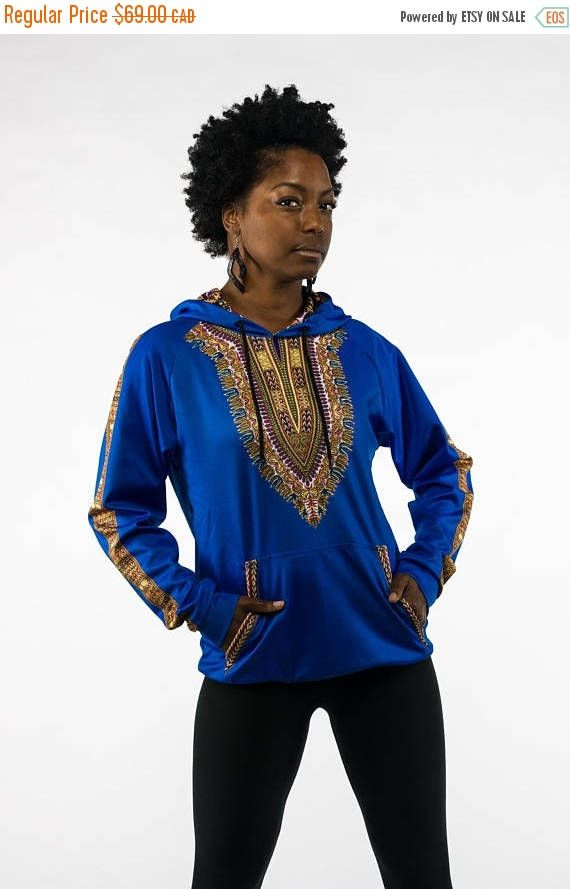 On Sale African Dashiki Hoodie