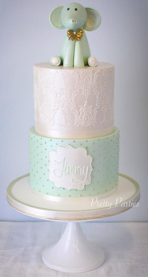 Pretty Parties - Custom Cakes CH-30 Christening / Communion / Confirmation Cake www.prettyparties.net.au
