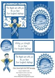 Colon  Bowel Cancer Card on Craftsuprint - View Now!