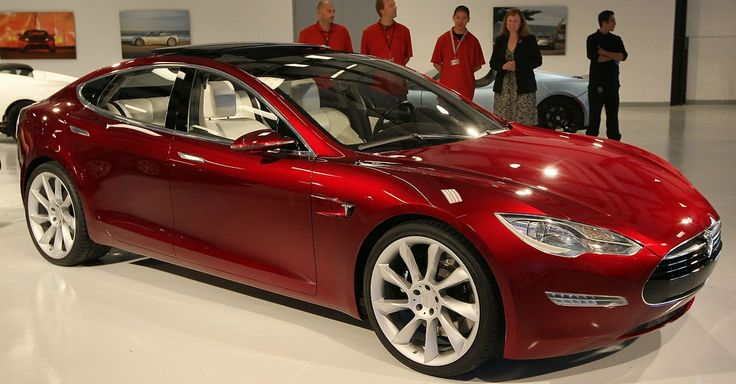 Someone bought a Tesla Model S car from a Florida dealership using bitcoin, the first person to buy a car with the crypto currency.