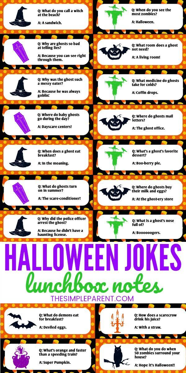 Halloween Jokes for Kids are a fun way to get everyone