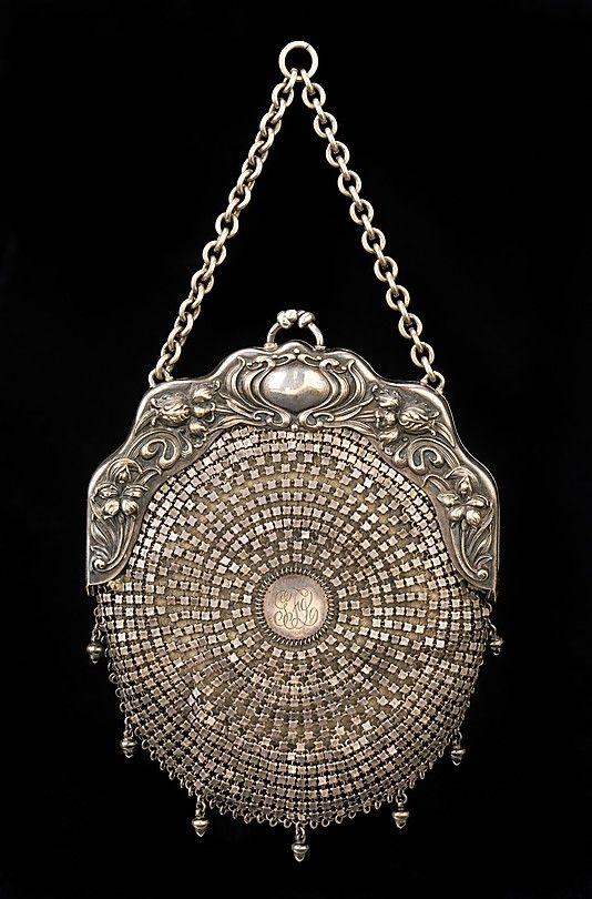 Bag (Chatelaine), circa 1903