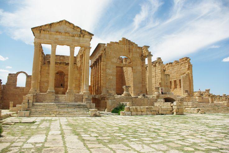 Les ruines de #Sbeitla en #Tunisie