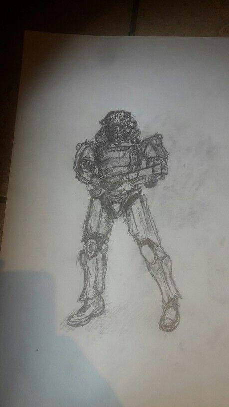 Fallout 4 #WW #Sketch