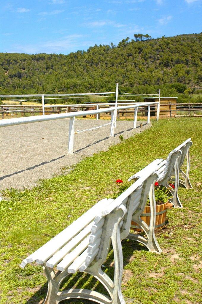 Pista de equitación