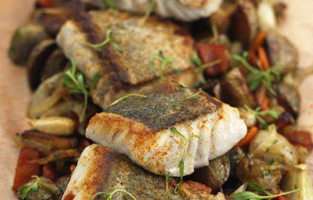 Roast hake with chorizo, chickpeas and coriander - Geoffrey Smeddle - See more at: http://www.greatbritishchefs.com/recipes/hake-recipe-chorizo-chickpeas-coriander#sthash.crwgY5Wa.dpuf