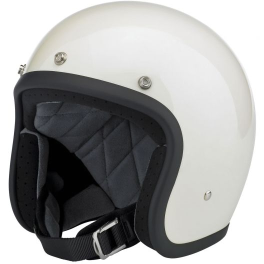 Biltwell el Fuerte Helmet; if I had a scooter and lived in a big city, this is the kind of helmet I would have.