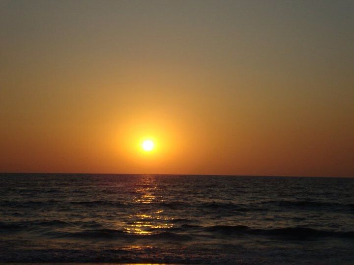 Sun set at Goa