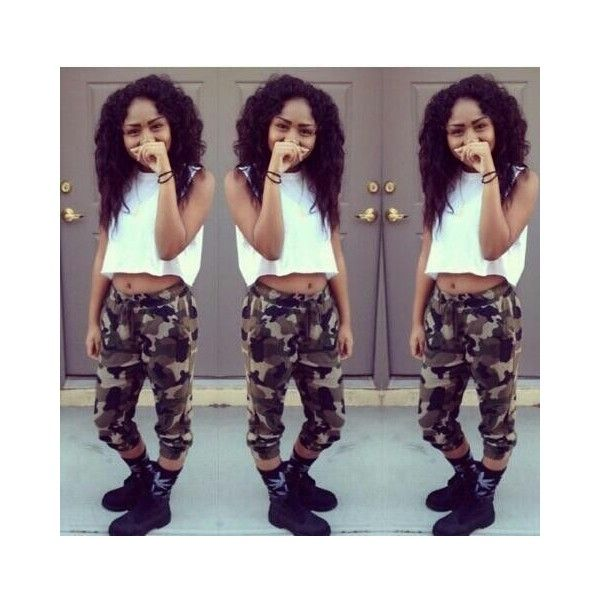 Girl Urban Thug/ Girls With Swag ❤ liked on Polyvore