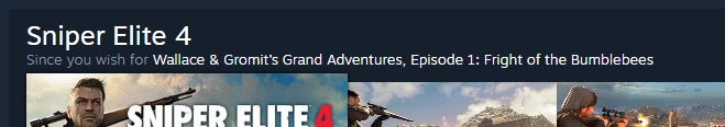You know Steam's recommendations algorithm needs work when...