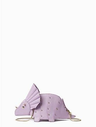 whimsies triceratops crossbody by kate spade new york