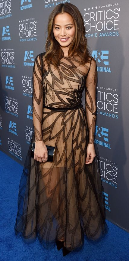 2015 Critics' Choice Movie Awards: Red Carpet Arrivals - Jamie Chung from #InStyle