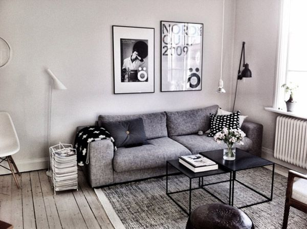 Scandi Style With The Design Chaser · Grey SofasWhite Living RoomsLiving  Room ...